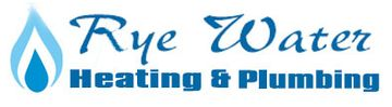 rye water heating and plumbing logo